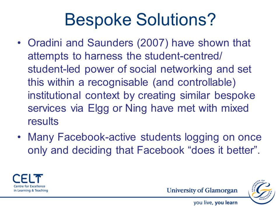 Bespoke Solutions.