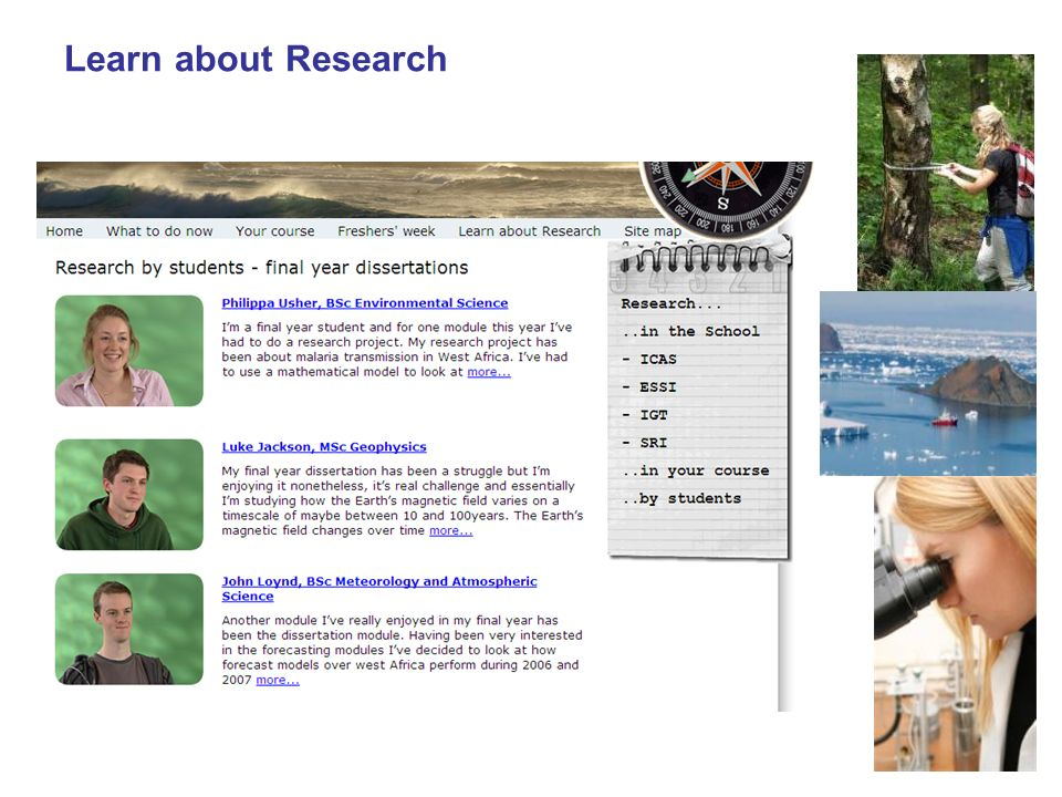 Learn about Research