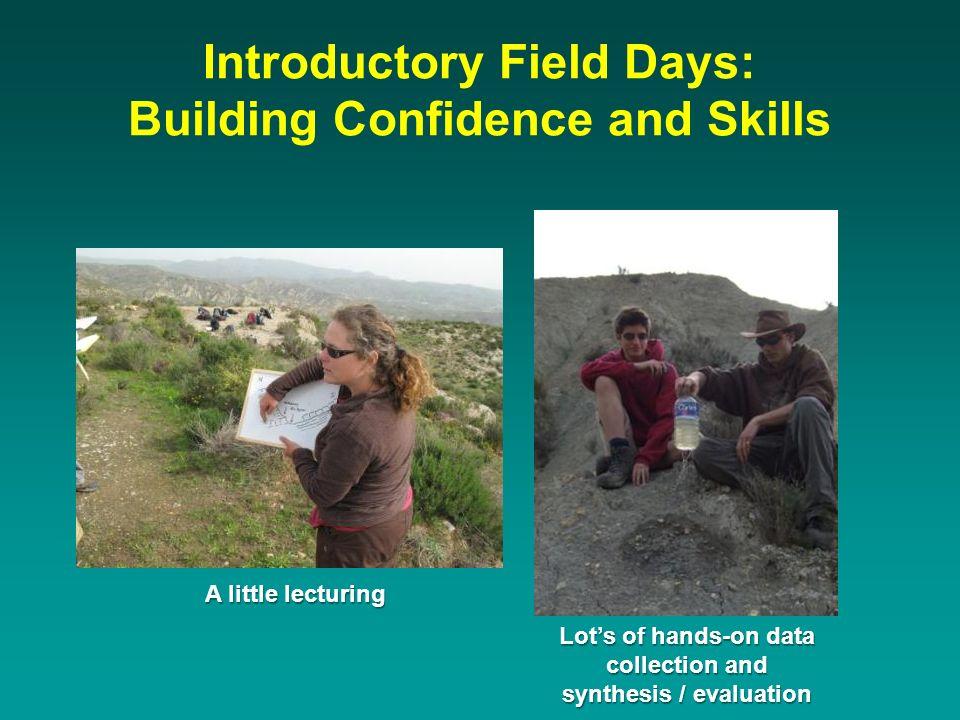 An example of good field notebook data