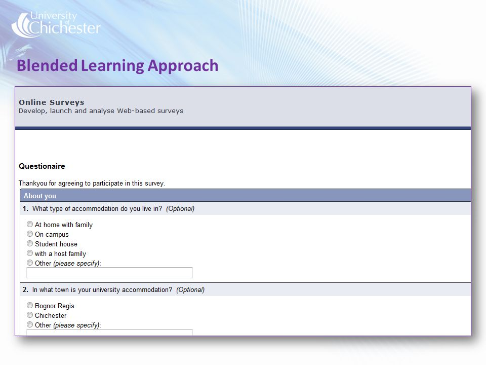 Blended Learning Approach
