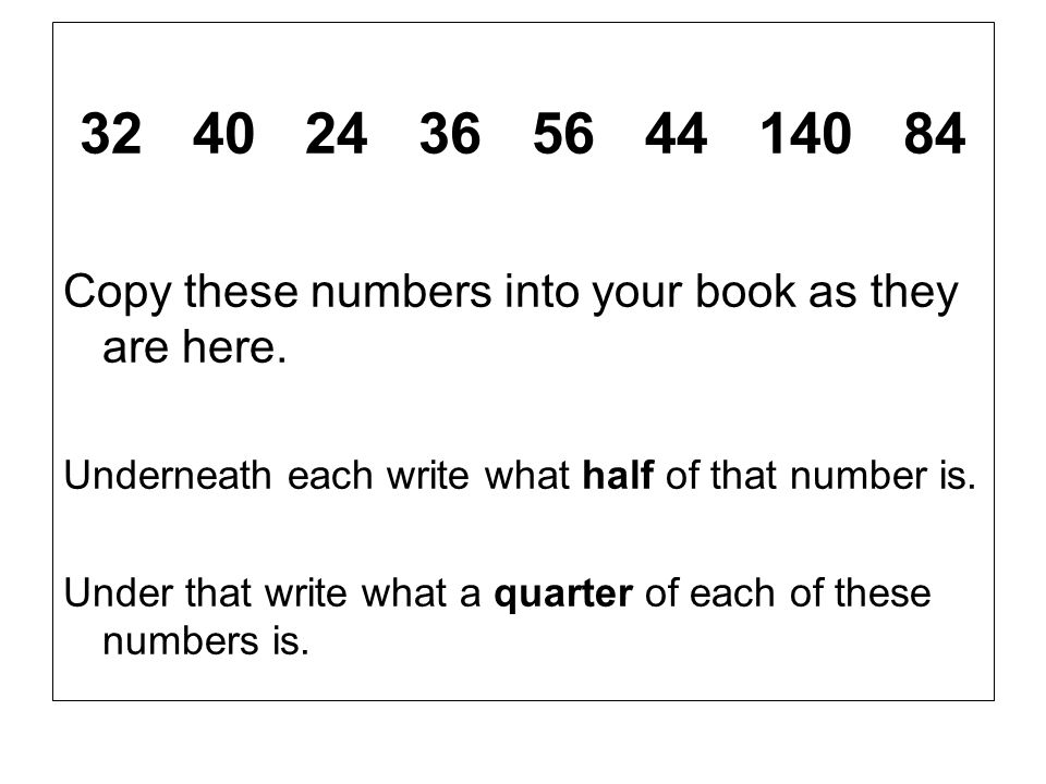 Copy carefully into your book: 9/4 > 8/4 = (2) ; 9/4 < 12/4 =(3) 9/4 = 2 1/4 11/3 > 9/3 = (3); 11/3 < 12/3 = (4) 11/3= 3 2/3 29/6 >24/6 = (4); 29/6 < 30/6 = (5) 29/6= 4 5/6 11/10>10/10 = (1); 11/10< 20/10 = (2) 11/10= 1 1/10