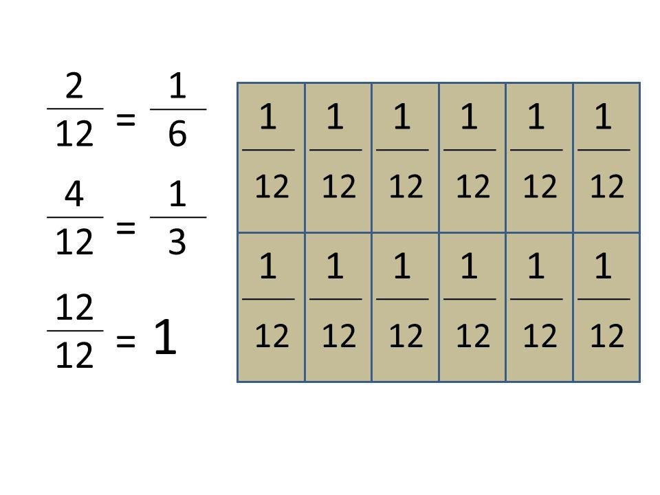 1313 1313 1313 1616 1616 1616 1616 1616 1616 12 = 1 2 12 = 1616 1 1 1 1 1 1 1 1 1 1 1 4 12 = 1313 1