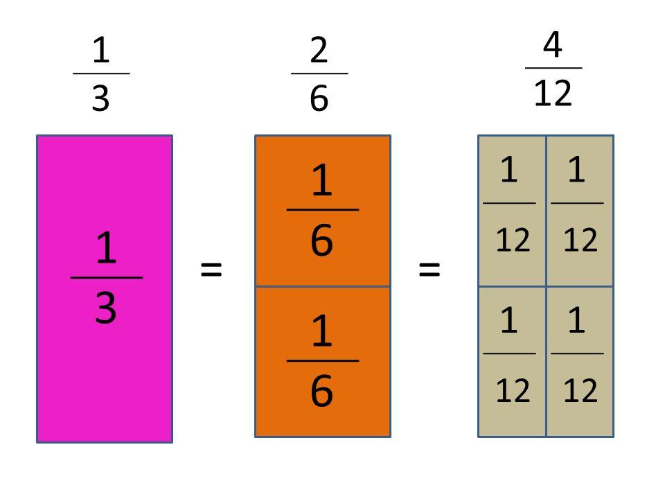 1313 1616 1616 1 1 1 1 == 4 12 2626 1313