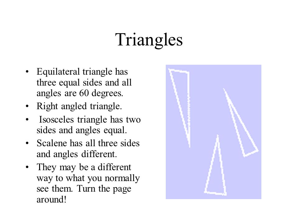 Shapes Rhombus is a pushed over square and a parallelogram is a rectangle pushed over. Trapezium has a pair of parallel lines. Kite has two pairs of a