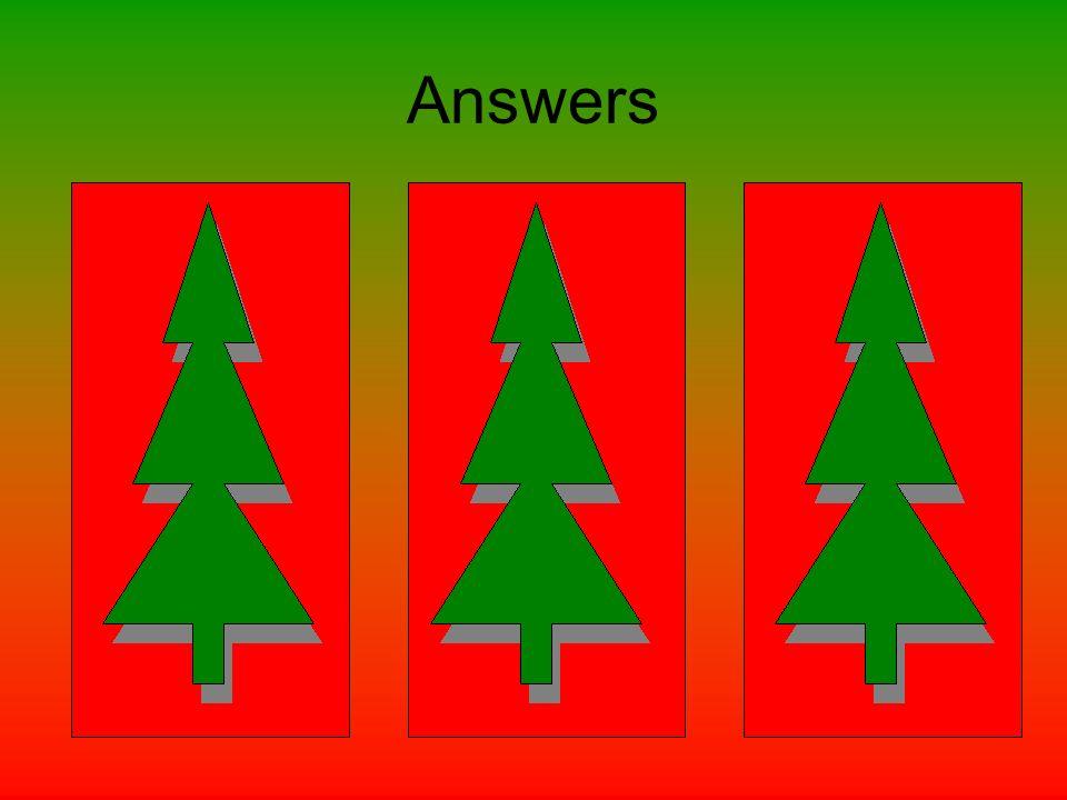 Answers Round 1 1)B 2)C 3)D 4)A 5)C 6)D 7)D 8)A 9)A 10)C Round 2 1)A 2)B 3)C 4)D 5)C 6)C 7)A 8)D 9)C 10)C Round 3 1)B 2)D 3)D 4)B 5)B 6)C 7)A 8)B 9)D
