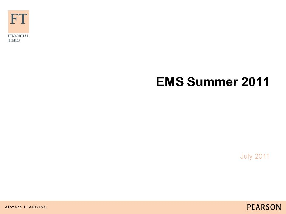 EMS has been running for 15 years and is conducted by Synovate.