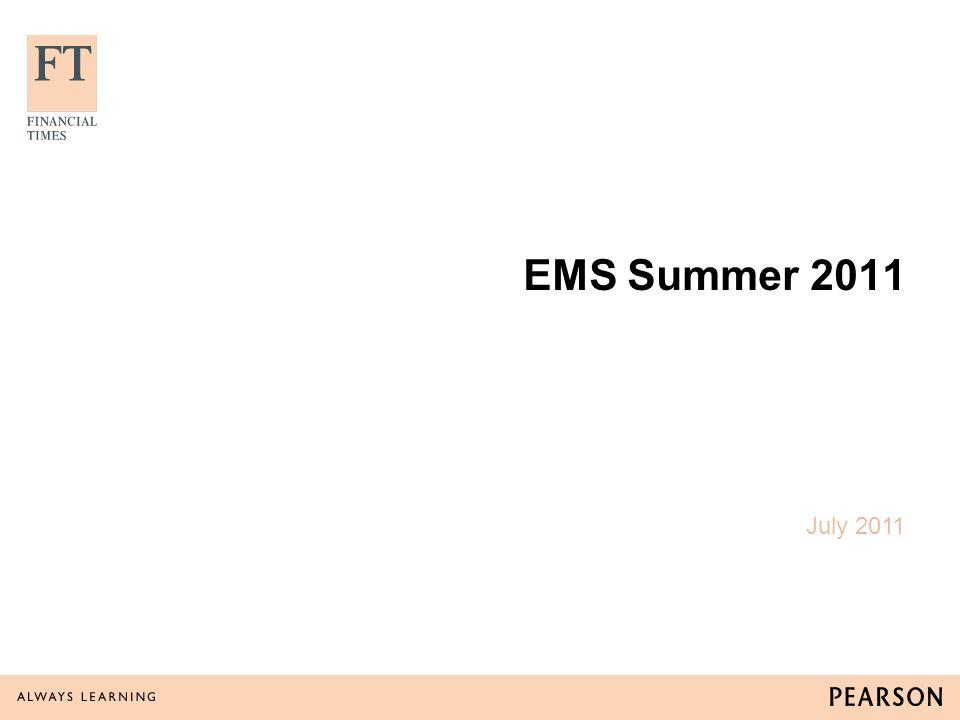 EMS Summer 2011 July 2011