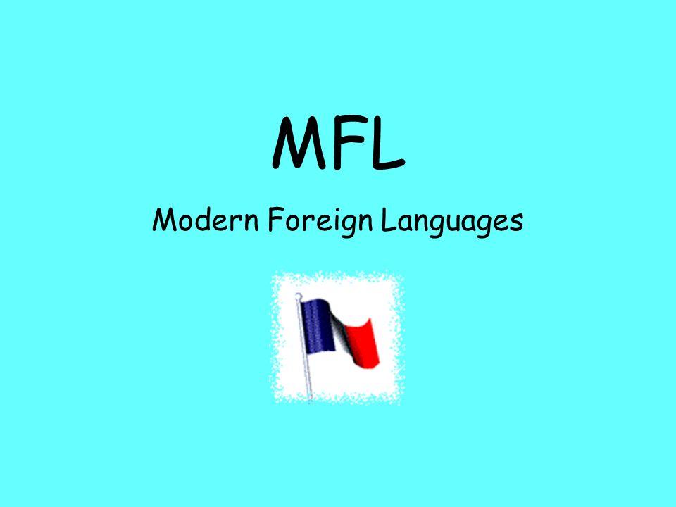 MFL Modern Foreign Languages