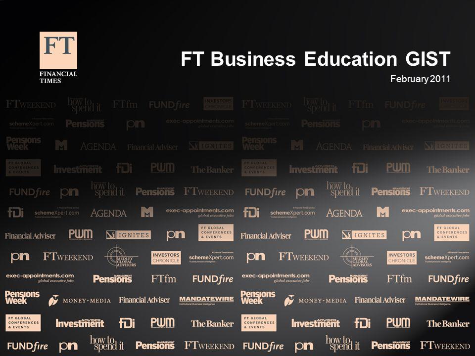 FT Business Education GIST February 2011