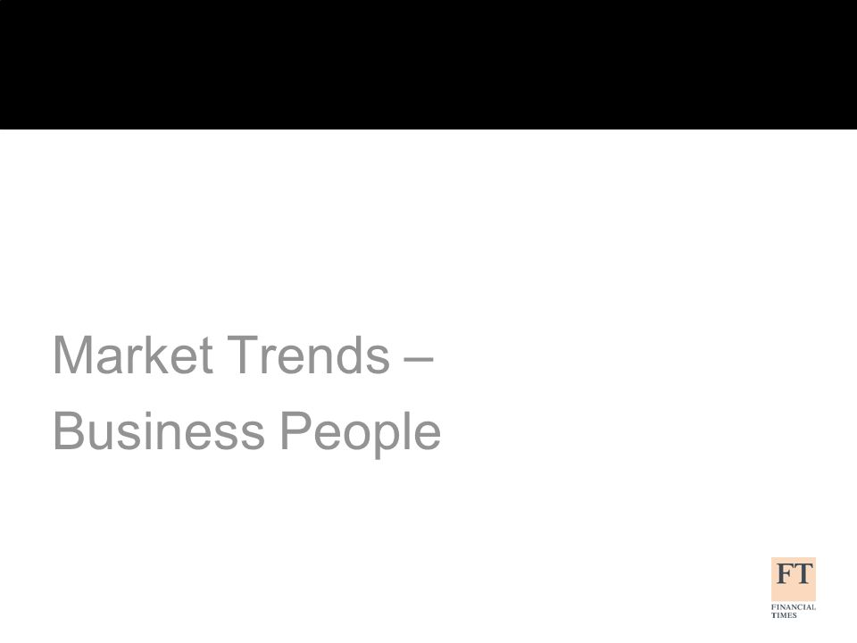 Market Trends – Business People