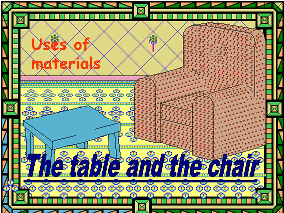 Uses of materials