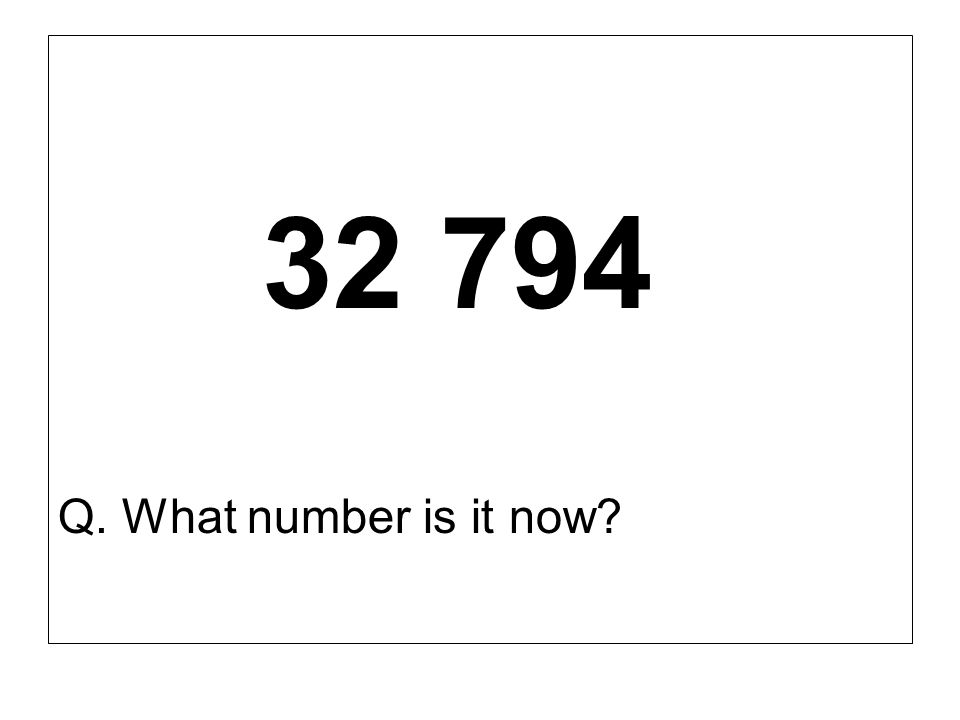 32 794 Q. What number is it now?