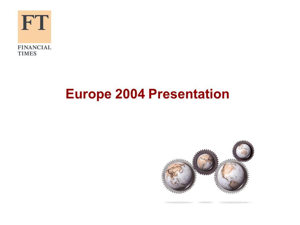 Europe 2004 Presentation