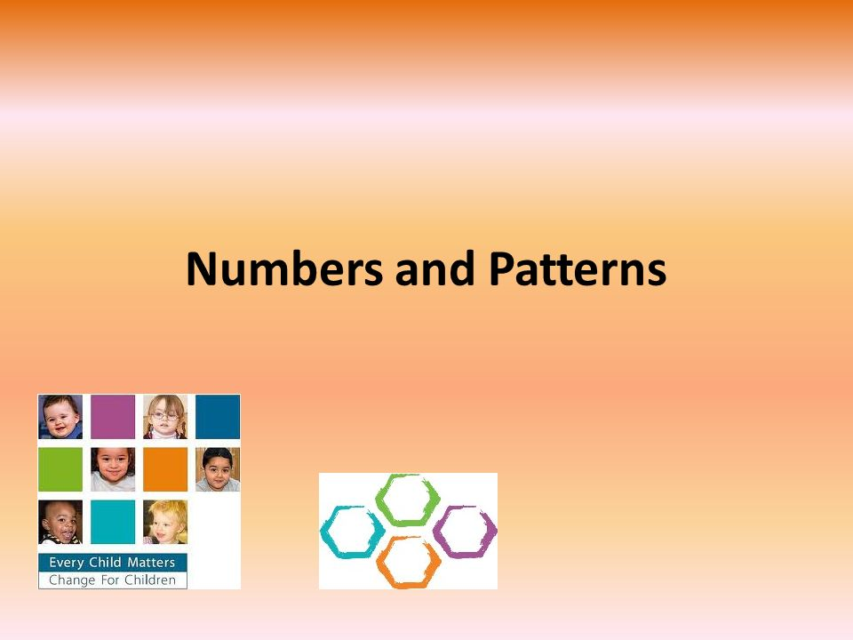 Numbers and Patterns