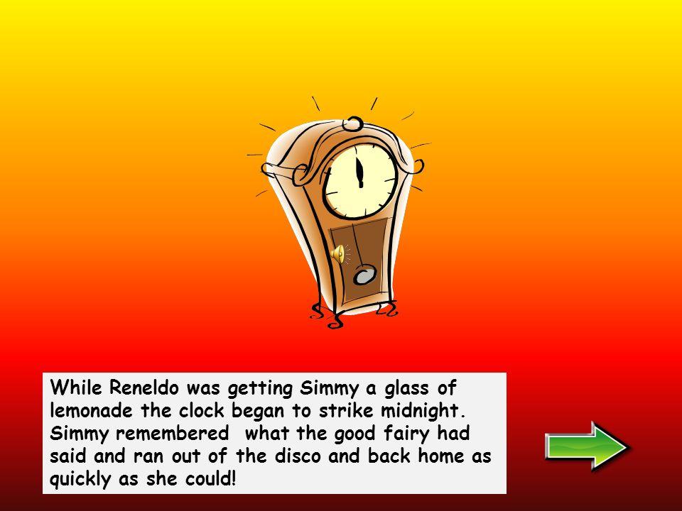 Reneldo and Simmys eyes met across the dance floor.