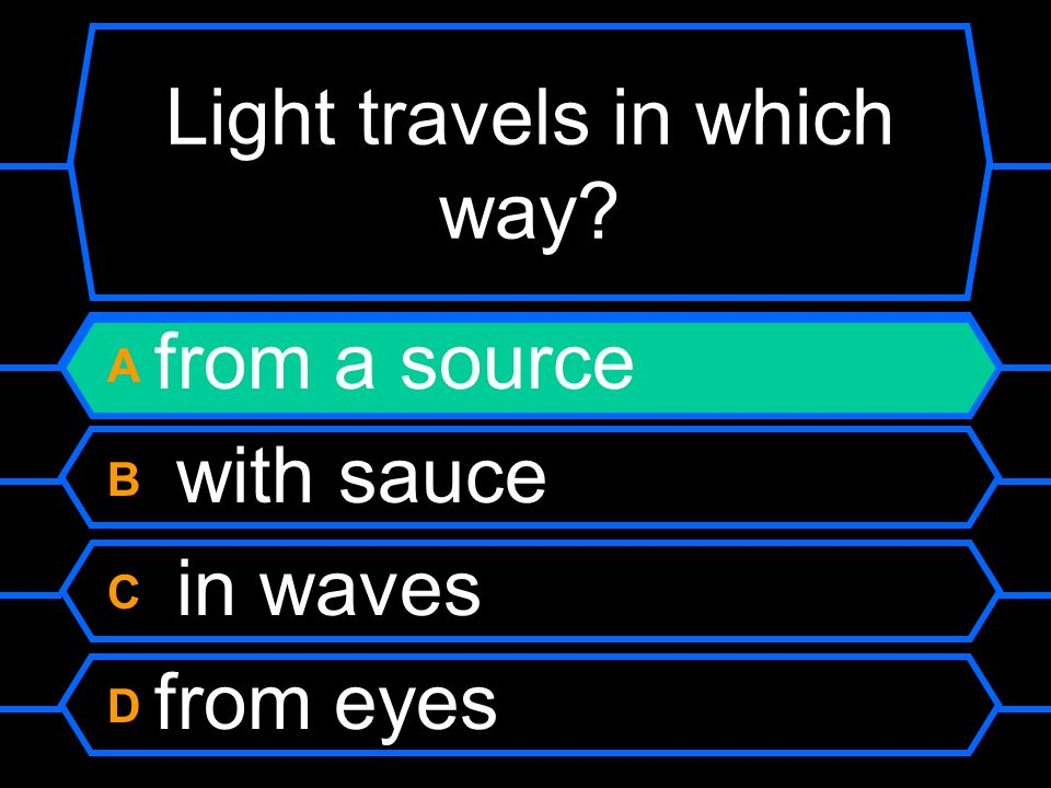 Which doesnt fit the way sound travels.