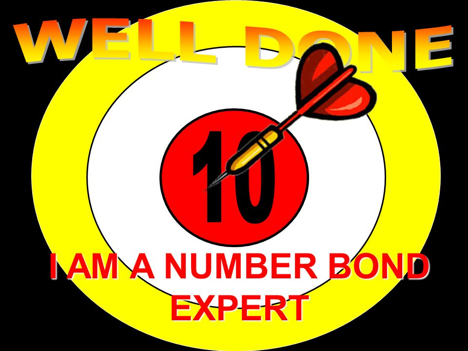 NUMBER BONDS OF 10 WRITE THESE DOWN