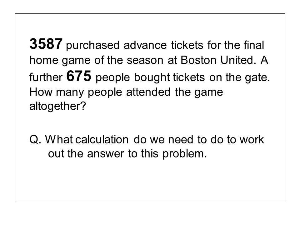 3587 purchased advance tickets for the final home game of the season at Boston United.