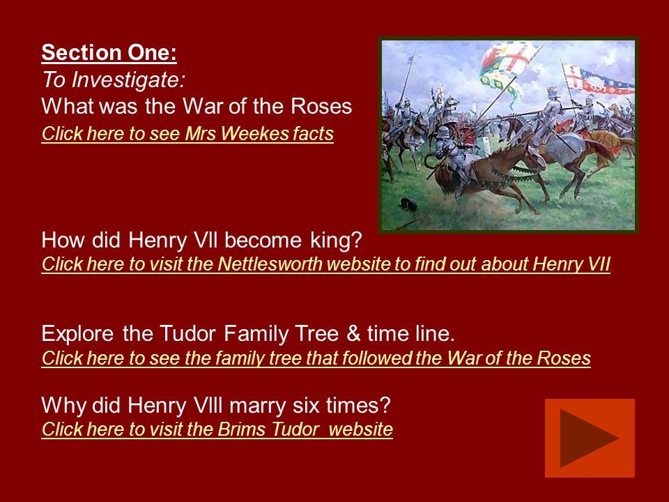 The Tudors A Year 4 Autumn Term Module