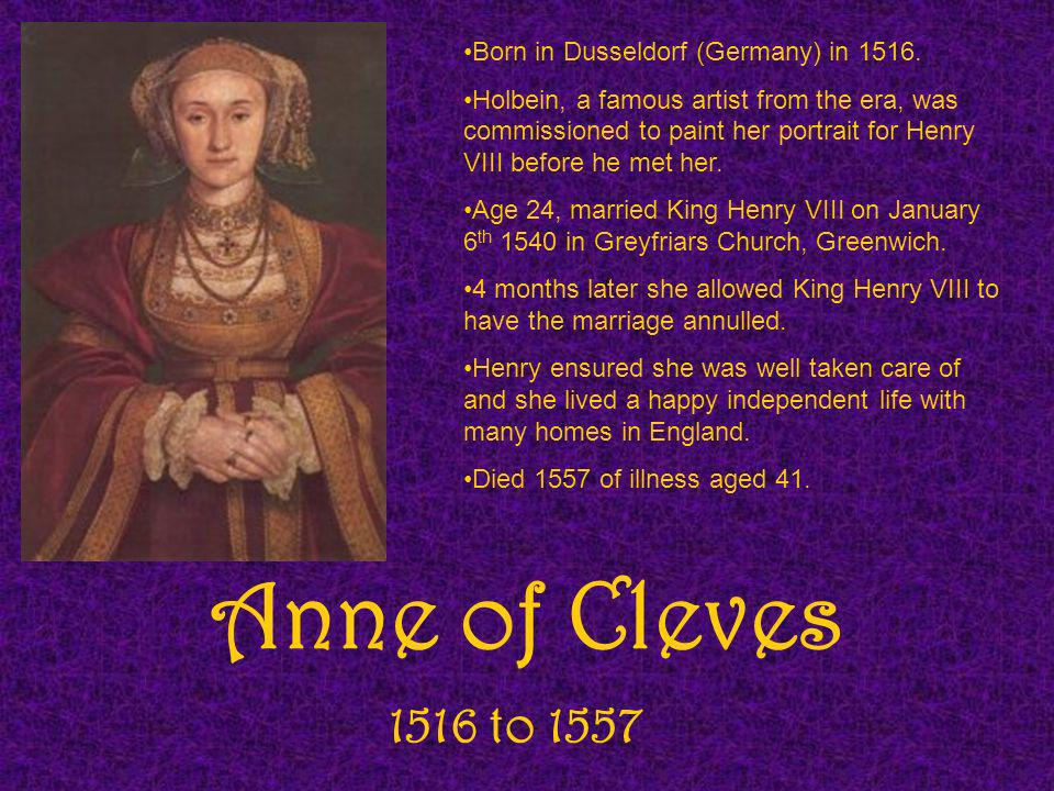 Kathryn Howard 1521 to 13 th February 1542 We dont know her date of birth, it is guessed to be 1521.
