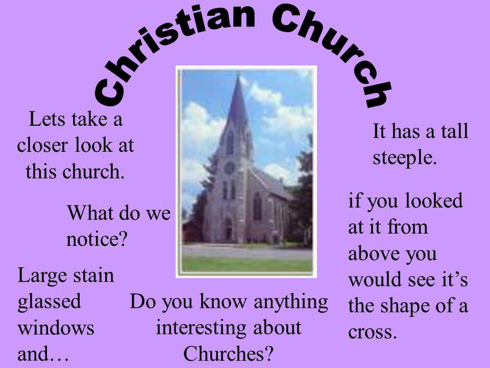 Christians worship in churches and their leaders are known as priests or ministers. Christianity is the largest world religion, with over 1 billion fo