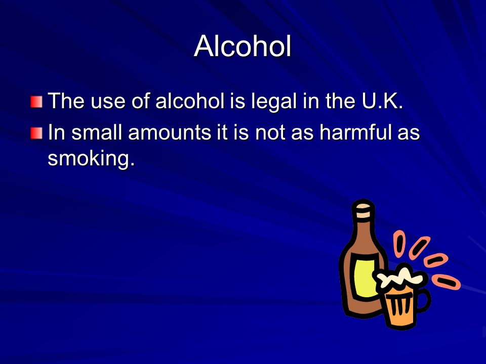 Alcohol makes you confident and slows down your reactions so it makes you more likely to take a risk and less able to cope when things go wrong.