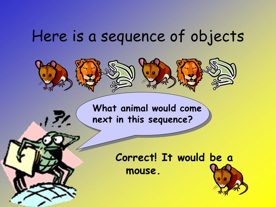 What is a sequence.