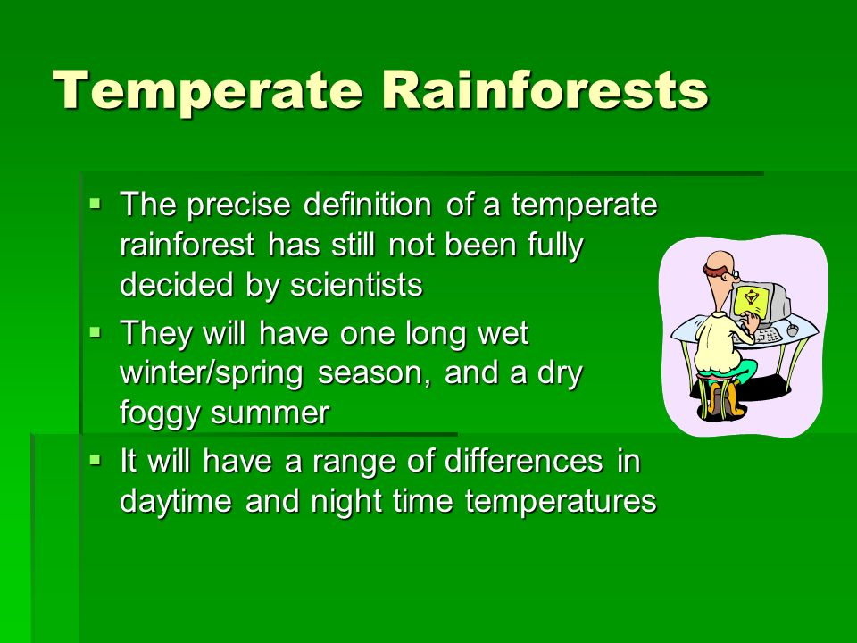 Tropical Rain Forests Tropical rain forests are found in a belt around the equator, where temperatures and rainfall are very high all year round Tropi