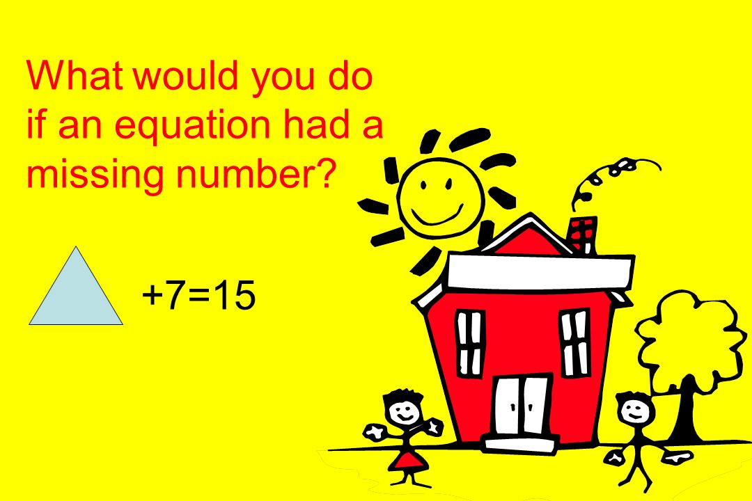 You can use this method to check your answers. 9+4=13 Check your answer by turning it into a subtraction: 13-4= 9 or 13-9=4