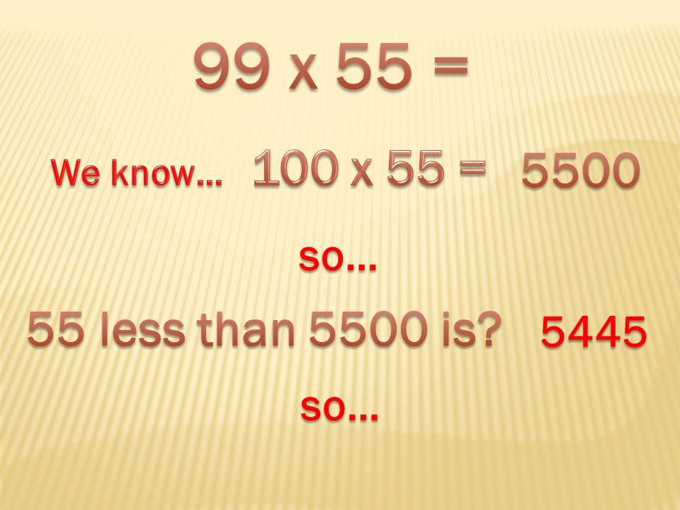 so… 5445 so…