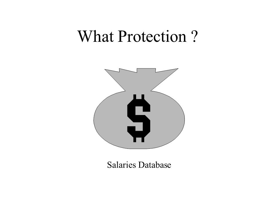 What Protection ? Salaries Database