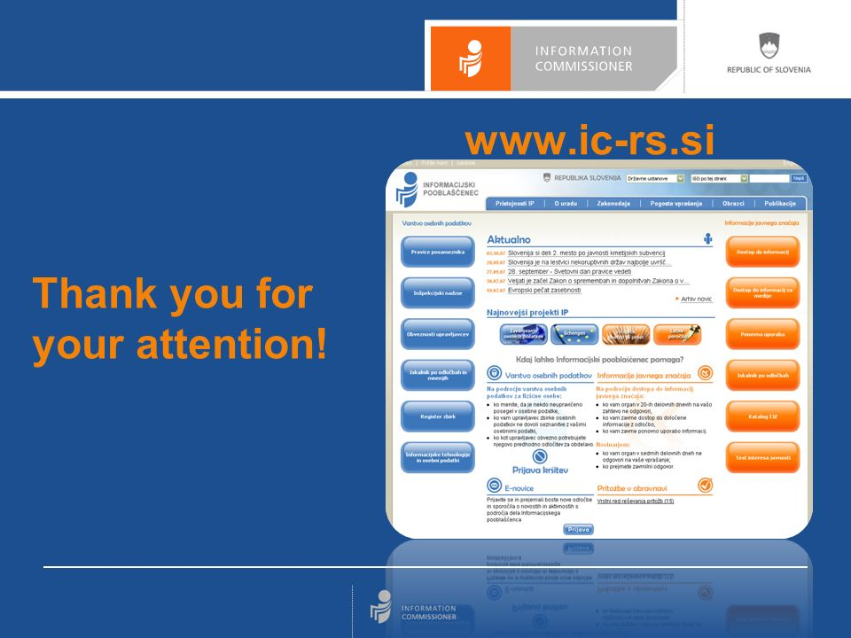 www.ic-rs.si Thank you for your attention!