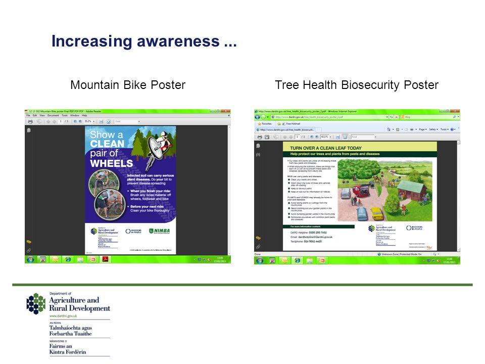 Increasing awareness... Tree Health Biosecurity PosterMountain Bike Poster