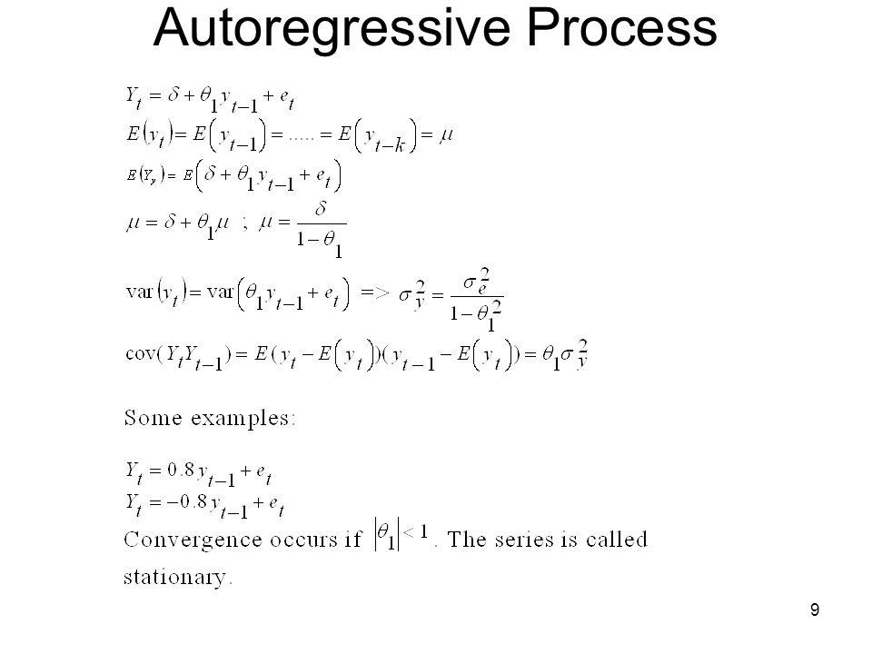 9 Autoregressive Process