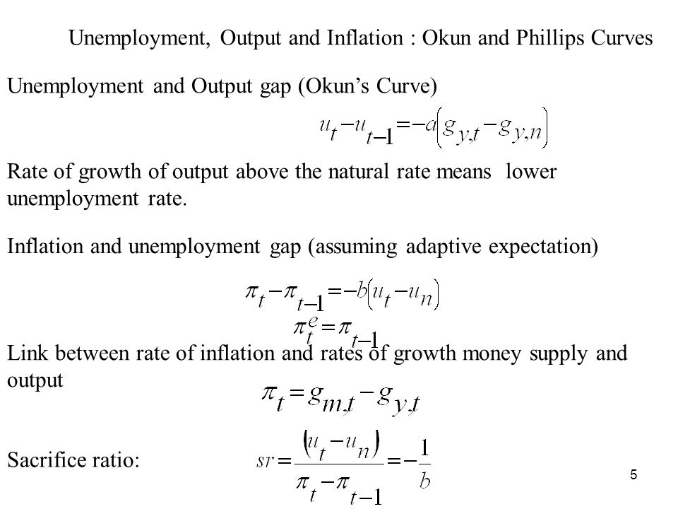 6 Inflation Reduction Programme: Output, Inflation and Unemployment