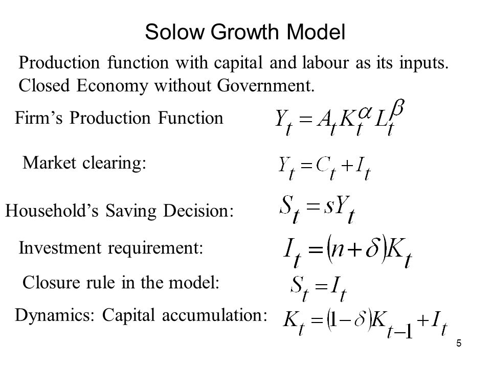 6 Per Capita Output and Per Capita Capital Stock in the Steady State 0.5ksks SST