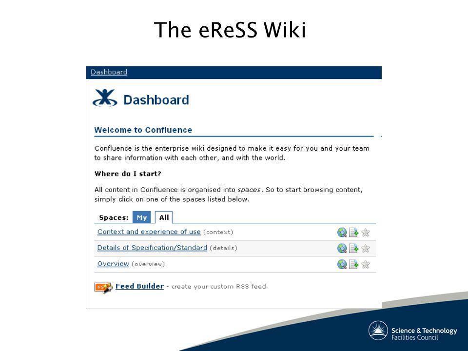 The eReSS Wiki