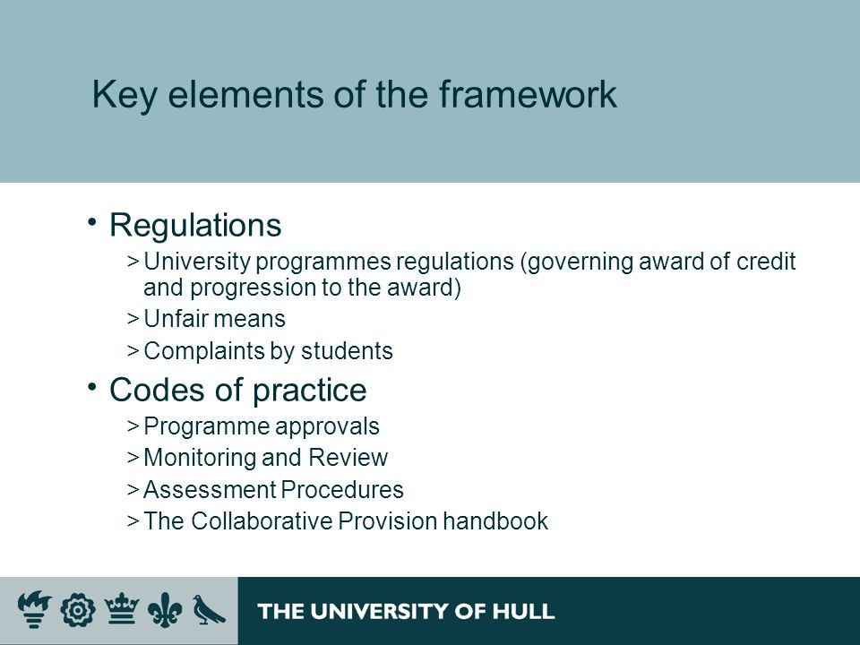 Securing Standards – Assuring Quality A Risk Based Approach >Risk to – Academic Standards Quality of learning experience University reputation >Financial risk