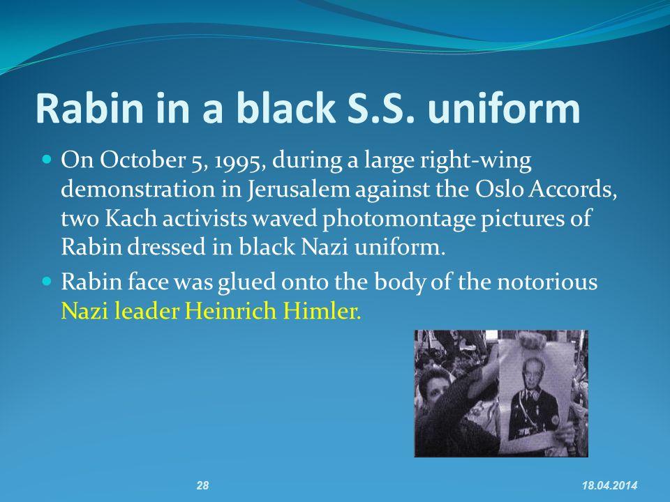 2818.04.2014 Rabin in a black S.S.