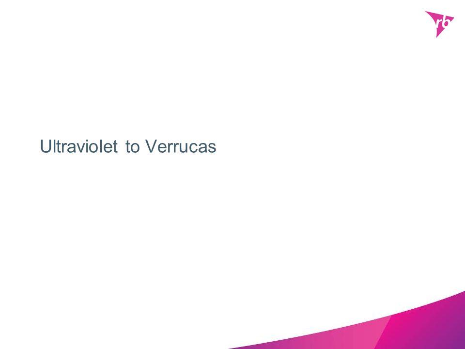Ultraviolet to Verrucas