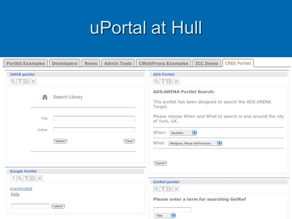 uPortal at Hull
