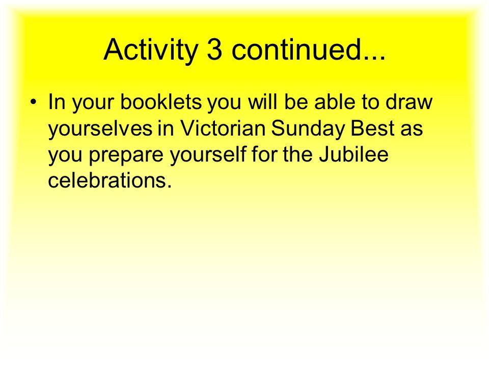 Activity 3 continued...