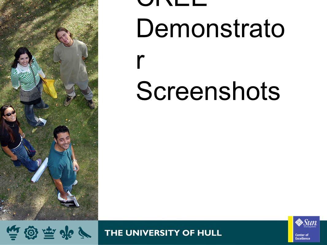 CREE Demonstrato r Screenshots