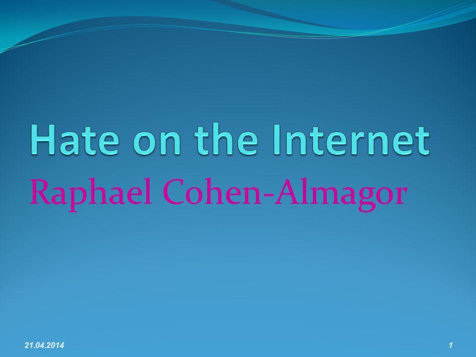 Raphael Cohen-Almagor 21.04.20141
