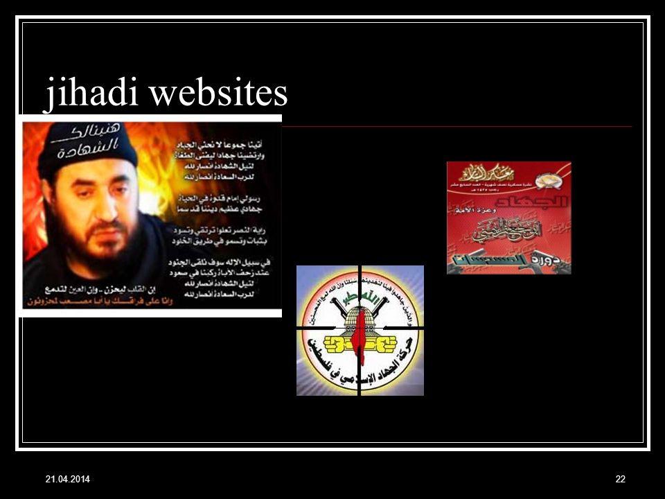 jihadi websites 21.04.201422