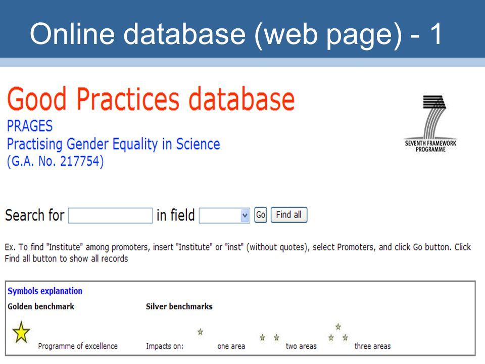 25 Online database (web page) - 1