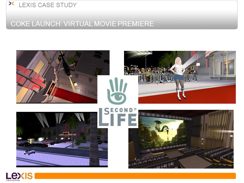 COKE LAUNCH: VIRTUAL MOVIE PREMIERE LEXIS CASE STUDY
