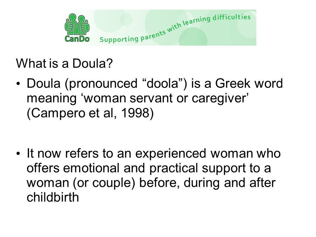 What is a Doula.
