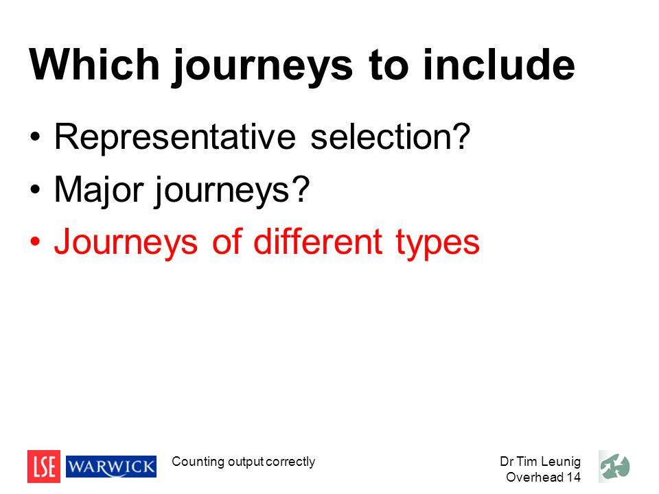 Which journeys to include Representative selection.