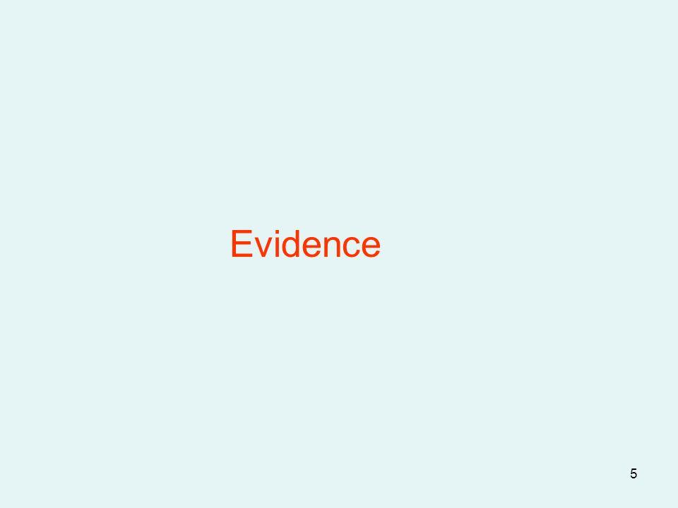 5 Evidence